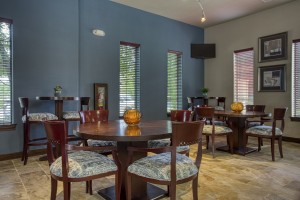 One Bedroom Apartments for Rent in San Antonio, TX - Clubhouse Dining Area
