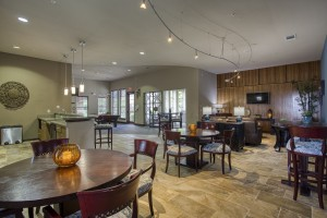 One Bedroom Apartments for Rent in San Antonio, TX - Clubhouse Dining Area (2)