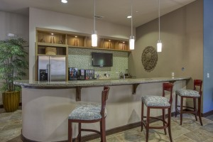 One Bedroom Apartments for Rent in San Antonio, TX - Clubhouse Kitchen & Coffee Bar