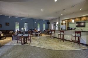One Bedroom Apartments for Rent in San Antonio, TX - Clubhouse Kitchen & Dining Area