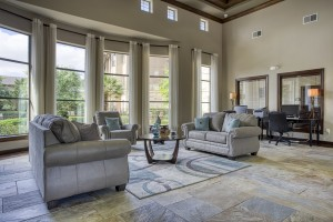 Three Bedroom Apartments for Rent in San Antonio, TX - Clubhouse Seating Area