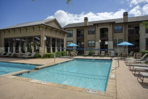 Three Bedroom Apartments for Rent in San Antonio, TX - Pool with Volleyball