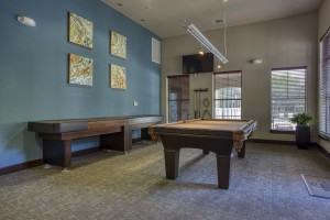 Two Bedroom Apartments for Rent in San Antonio, TX - Clubhouse Pool Table