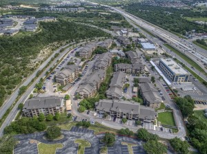 2 Bedroom Apartments for Rent in San Antonio, TX - Aerial View of Community (3)