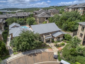 3 Bedroom Apartments for Rent in San Antonio, TX - Aerial View of Community & Clubhouse
