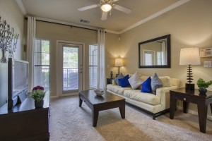Two Bedroom Apartments for Rent in San Antonio, TX - Model Living Room